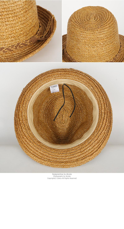 라피아 트위스티드 장식 띠 페도라 DCH-AC547 - 디꾸보, 21,080원, 모자, 페도라/베레모